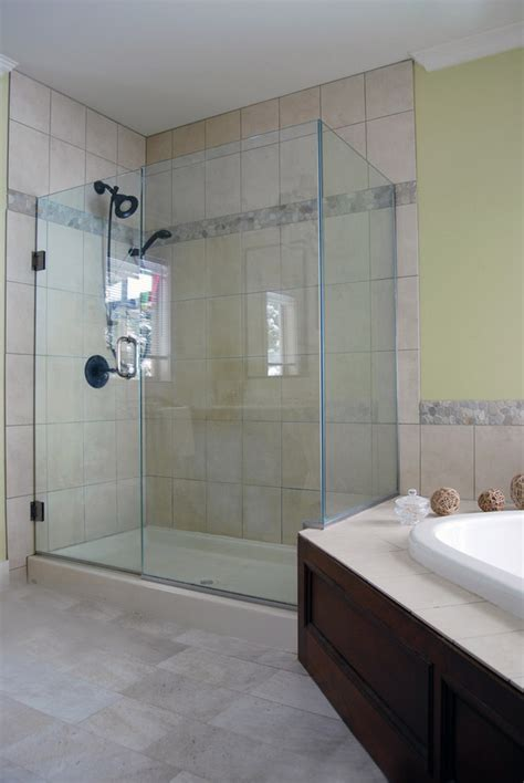 bathroom showers ideas pictures glass enclosed showers bathroom contemporary with 12 x 24