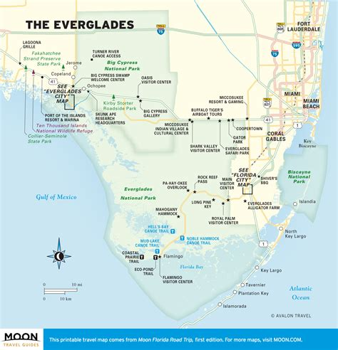 everglade city florida map the everglades in two days moon travel guides