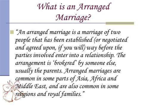 arranged marriage arranged marriages