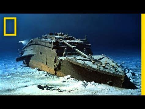wann ging die titanic unter national geographic live robert ballard painting the