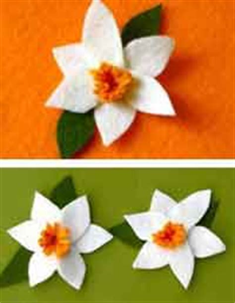 pattern for felt daffodil over 50 free felt flower patterns and tutorials at allcrafts