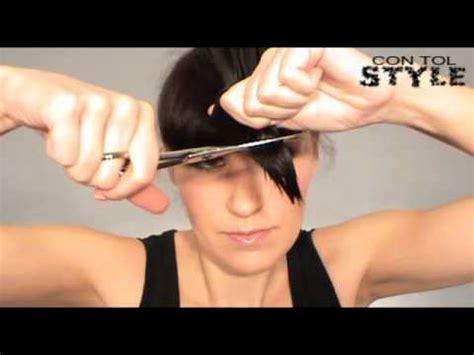 como cortar el cabello corto corte de cabello escalado a capas how to cut your own