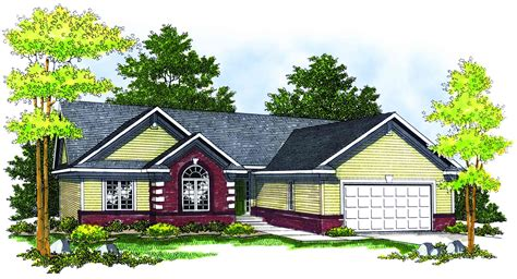 traditional ranch home plan 89141ah architectural
