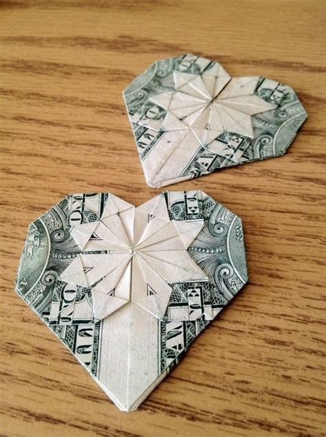 Simple Dollar Bill Origami - how to make an origami from a dollar recipe