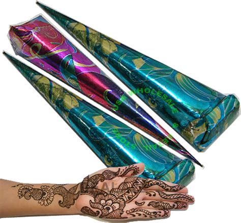 henna tattoo cones 3 x best quality henna mehendi temporary cones ebay