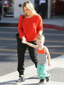 Hilary Duff Thinks She Has by Hilary Duff Dresses In Sweatpants For Outing With