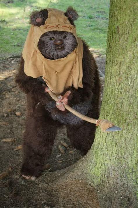 wicket ewok costume halloween ideas pinterest