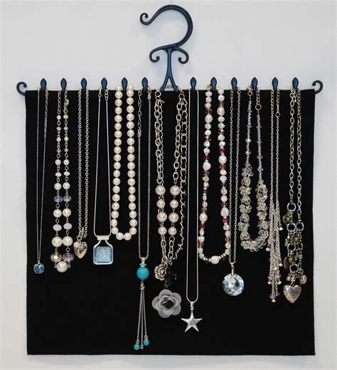 How To Make A Hanger Holder - diy necklace holder for ways hanging jewelries