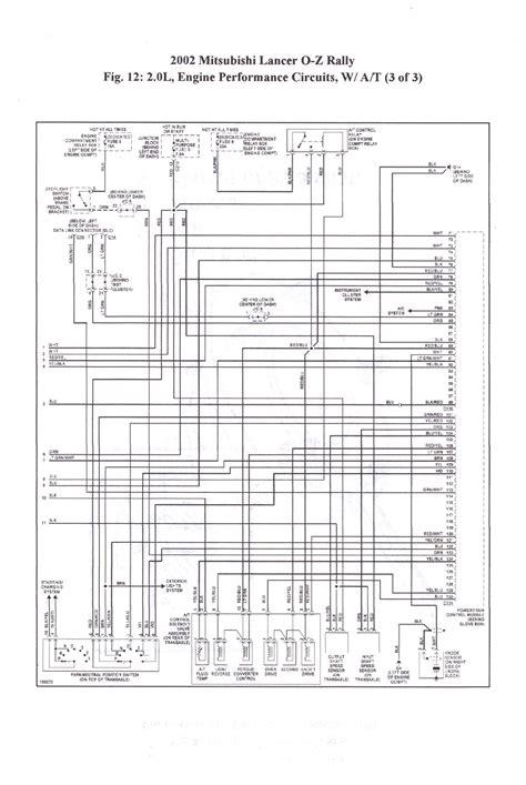 2002 mitsubishi lancer oz rally wiring diagram