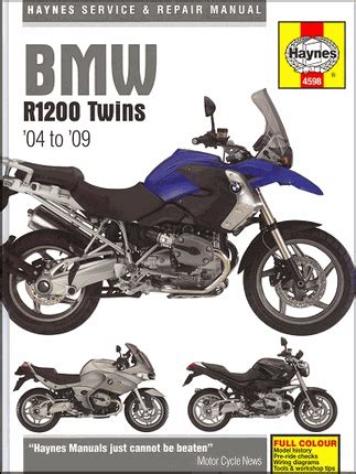 Bmw Motorrad Owners Manual by 2008 Bmw R1200gs Service Manual