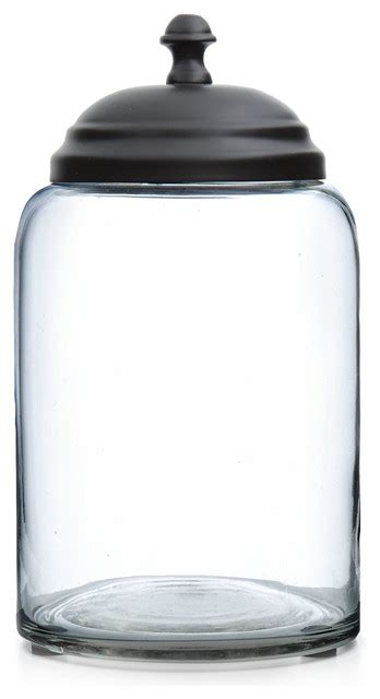 contemporary kitchen canisters lonestar glass canister contemporary kitchen canisters