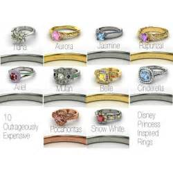 princess inspired wedding rings disney princess inspired rings and rapunzel are my