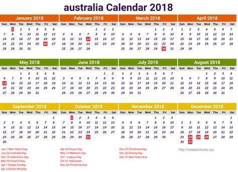 Galerry 2018 year planner printable australia free