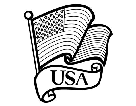 coloring page for united states flag search results for blank united states of america sheet