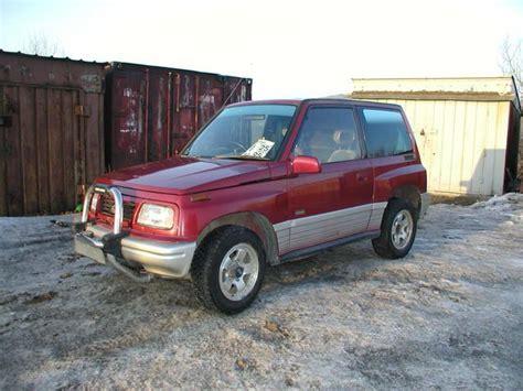 Suzuki Escudo 1996 1996 Suzuki Escudo Pictures