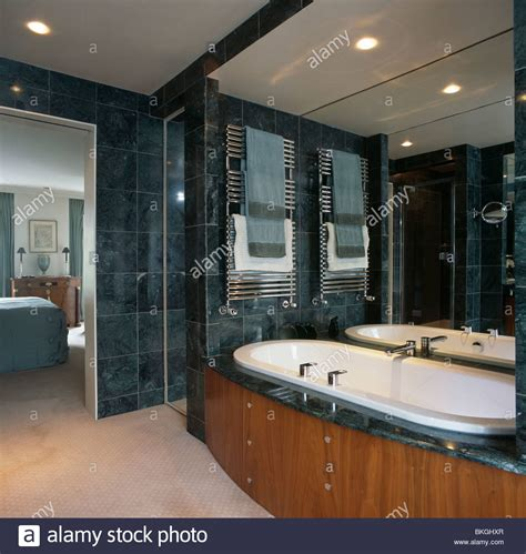 contemporary heated towel rails for bathrooms towels on heated towel rails above bath in modern marble