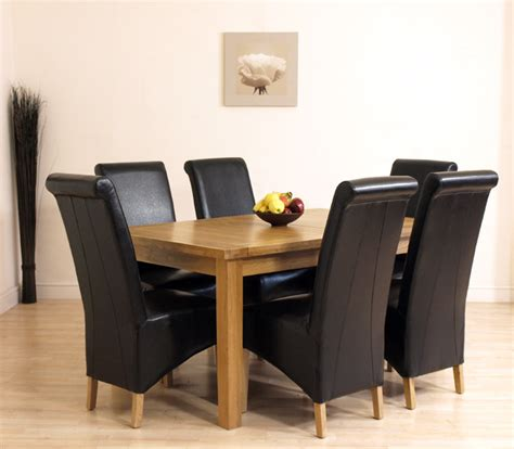 dining table seattle dining table and 6 chairs oak