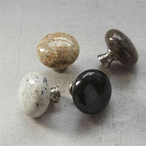 granite kitchen cupboard door drawer knob by