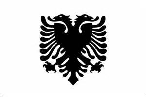 Albanian Flag Outline flag of albania 2009 clipart etc
