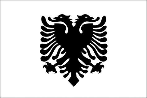 Albanian Flag Outline by Flag Of Albania 2009 Clipart Etc