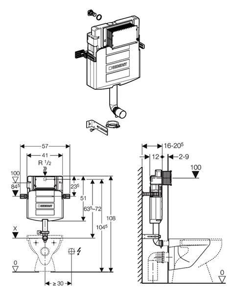 Kitchen Furniture Uk geberit sigma concealed cistern 12cm up320 109 309 00 5