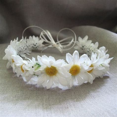 White Budroses Flower Crown 1 white flower crown flowers