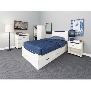 ameriwood storage bed dorel home furnishings mates storage bed with colored