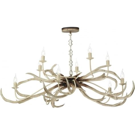 Rustic Ceiling Lights Uk Handcrafted Stag Antler Ceiling Hanging Light With