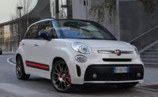 Abarth 500l Fiat 500l Abarth Rendering Autoevolution