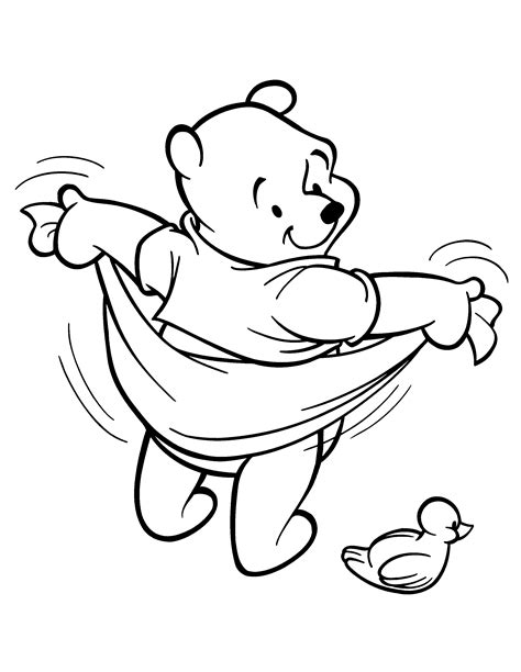 free coloring pages of winnie the pooh and tiger