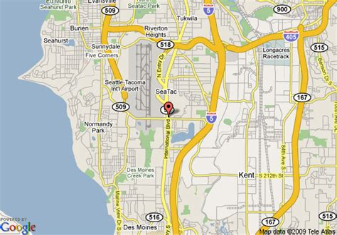 seattle map with hotels doubletree hotel seattle airport seattle deals see