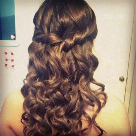 Hairstyles For School Dances by Curly Hairstyles For School Dances Curly Hair