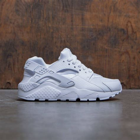 Nike Kid White nike big nike huarache run gs white white platinum