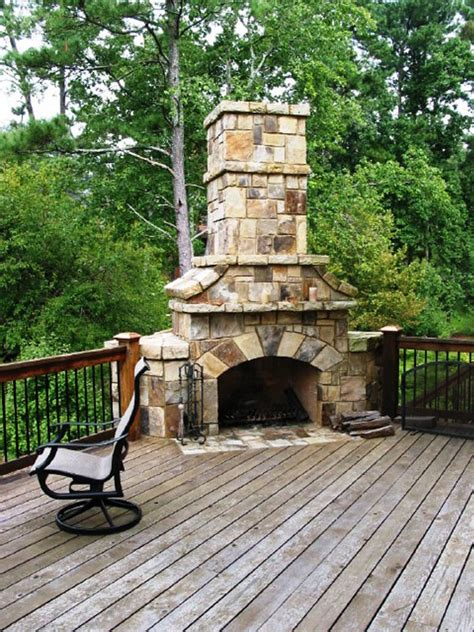 Outdoor Gas Fireplaces For Decks by Outdoor Fireplace On Deck 187 Backyard And Yard Design For