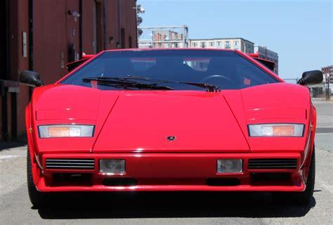 1986 Lamborghini Countach For Sale 1986 Lamborghini Countach 5000 Quattrovalvole Downdraft