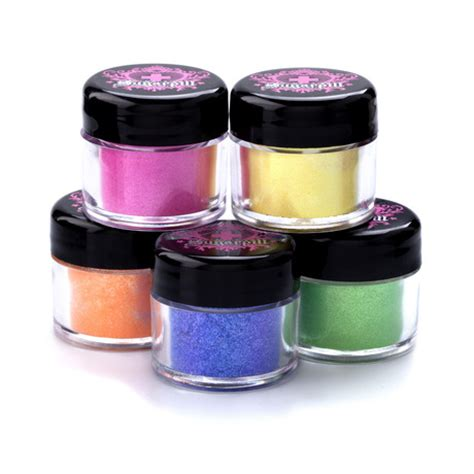 Sugarpill Elektrocute Neon Pigments Hellatronic sugarpill cosmetics elektrocute neon pigment hi viz
