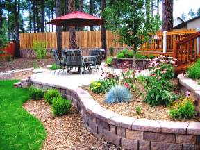 Backyard Garden Ideas Photos Back Yard Landscape Design Ideas Free Home Design Ideas Images