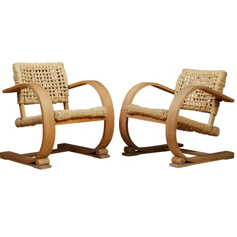 Rope Chair by Audoux Minet Rope Chairs For Sale At 1stdibs