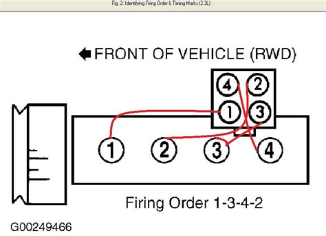 ford ranger 3 0 firing order diagram ford ranger spark