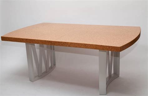 Dining Tables Cork Cork Top Dining Table By Paul Frankl For Sale At 1stdibs