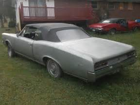 1967 Pontiac Lemans Convertible For Sale 1967 Pontiac Lemans Convertible To Restore To Gto