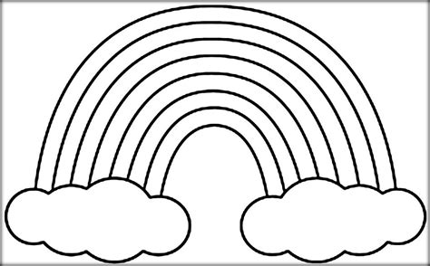 cool rainbow coloring page rainbow coloring sheets rainbow free coloring pages for