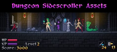 construct 2 side scroller tutorial dungeon sidescroller assets game packs scirra forums