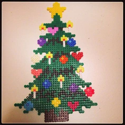 christmas tree pony bead pattern 913 best images about hama beads perler beads on