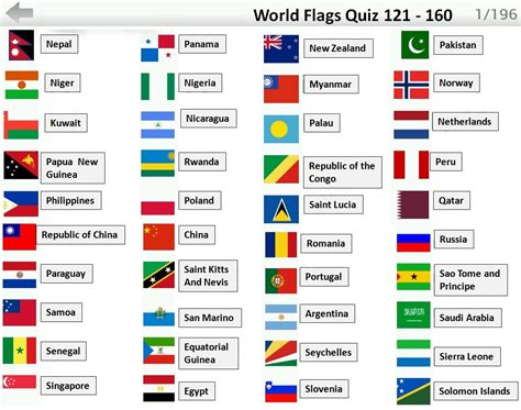 names of countries flags quiz answers 121 160 flag quiz android ios