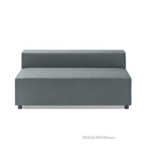divanetto 2 posti divanetto attesa 2 posti senza braccioli e schienale basso