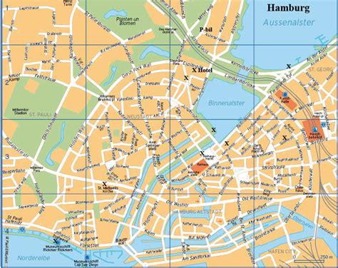 printable map hamburg november 2011 free printable maps