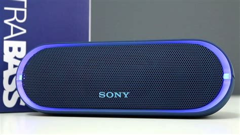 Sony Srs Xb20 Black sony srs xb20 bass wireless speaker review