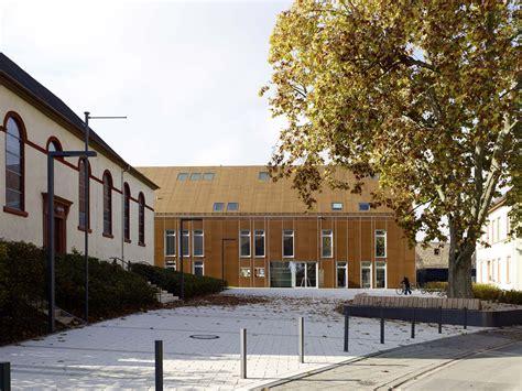 architekten in mannheim gemeindehaus und kita in mannheim doppelmoral
