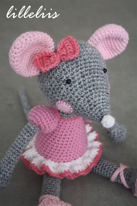 amigurumi pattern mouse amigurumi pattern ballerina mouse lilleliis patterns